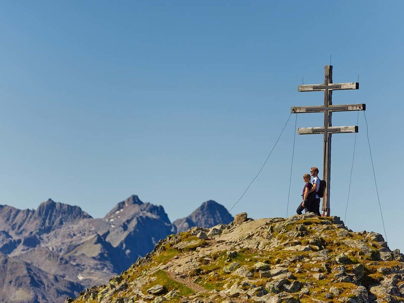Bergsteigen im Ötztal
