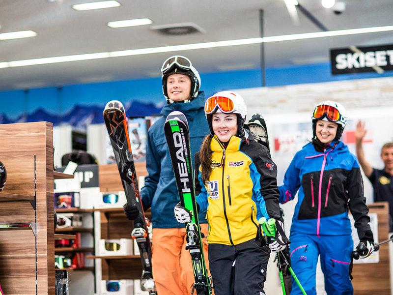 15% Rabatt auf Ski- & Snowboardverleih bei SunUp