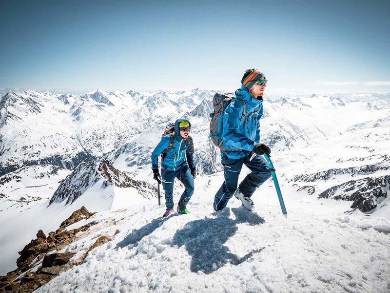 Hochalpine Skitouren
